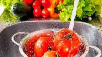 sayuran tidak hygienis