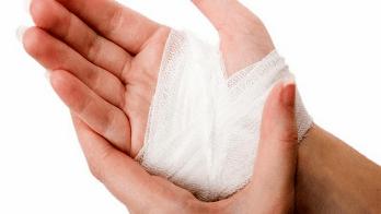 cedera tangan saat memotong